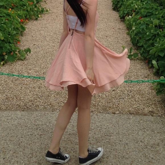 Pink Flare Scarlett Kimchi Blue Dress
